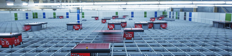 AutoStore installasjon