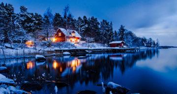 cinderella fremhevet hytte snø