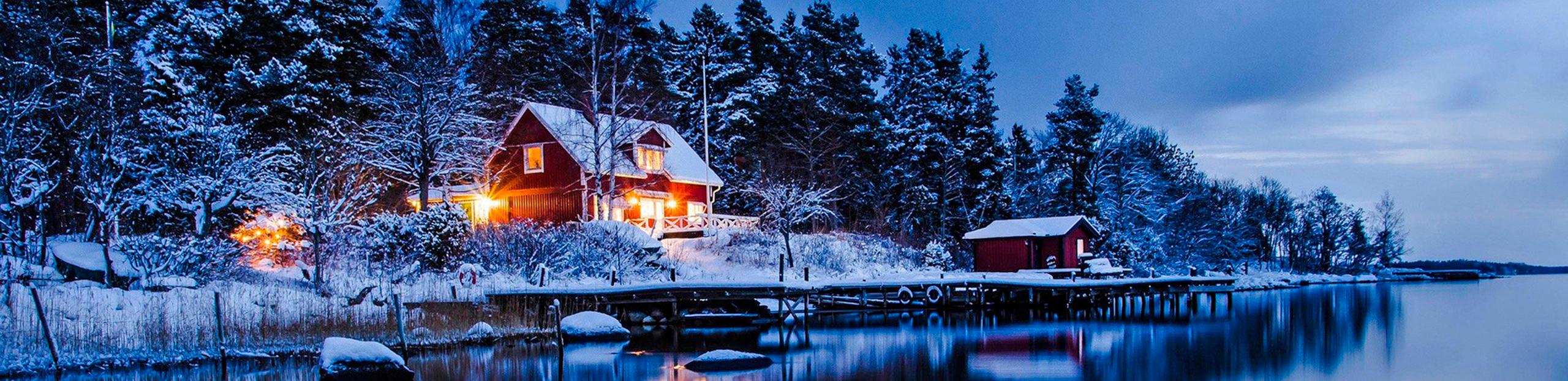 Cinderella - hytte snø