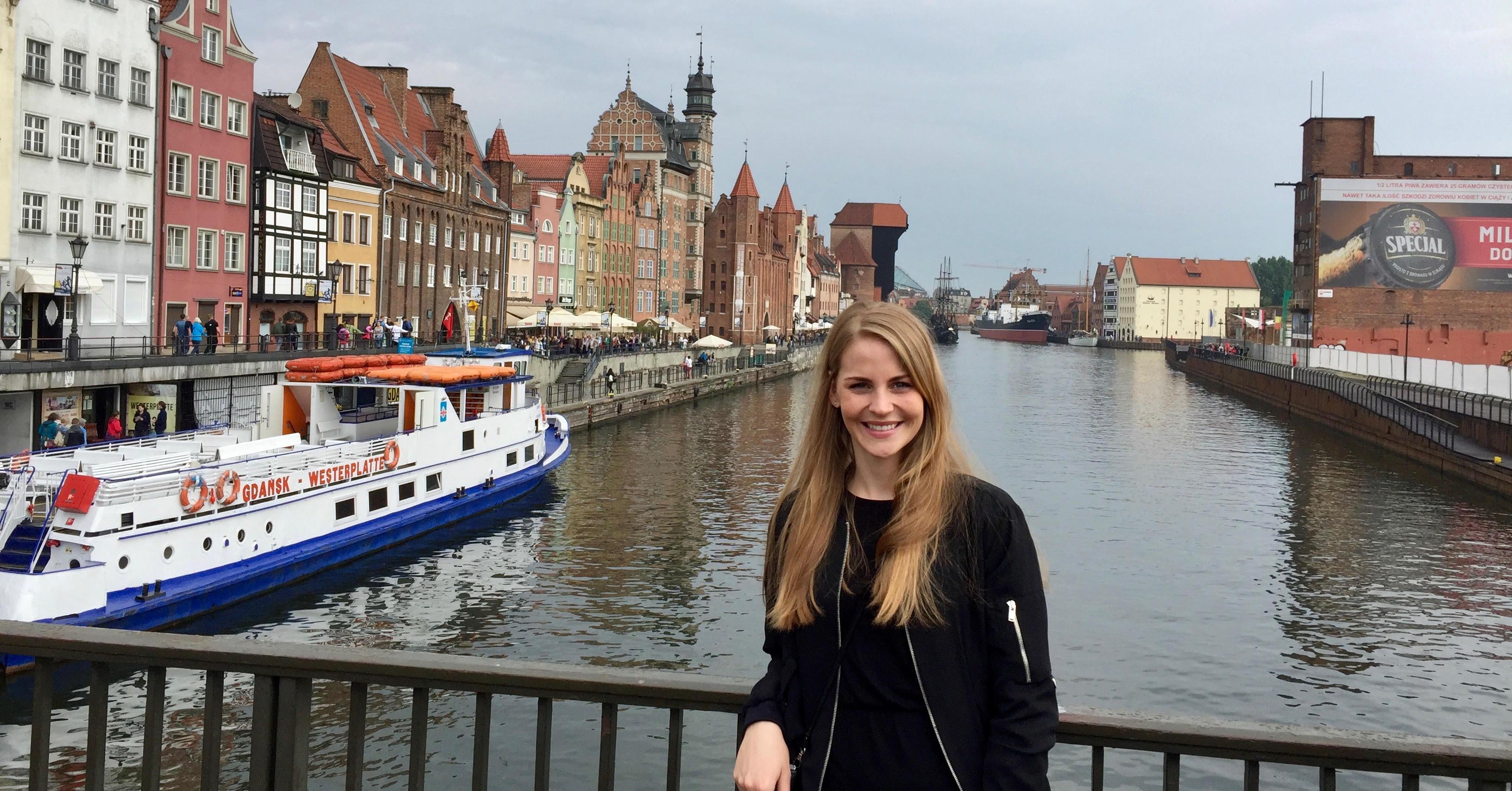 Bjørg i Gdansk