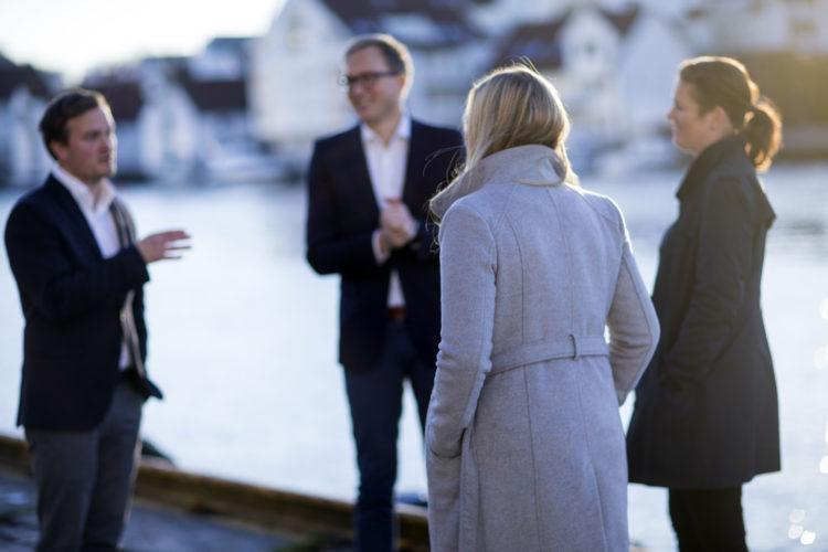 Team Hamnøy i samtale